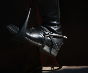 boots, rider, and stirrup image