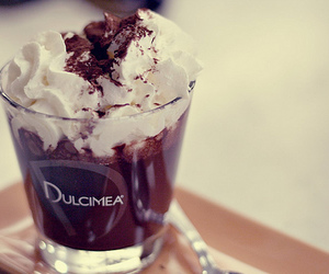 <3, chocolate, and coffee image