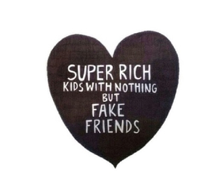 fake, kids, and rich image