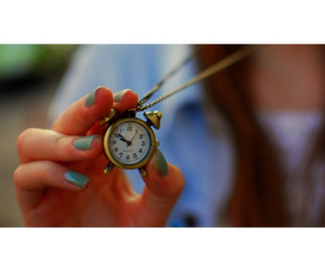 amazing, clock, and clock necklace image
