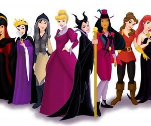 disney, princess, and villain image
