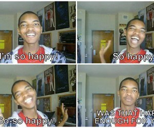 happy, funny, and kingsley image