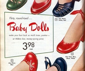 50s, girls, and high heels image