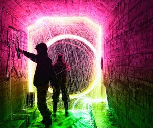 light, graffiti, and boy image