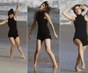 beach, dance, and girl image