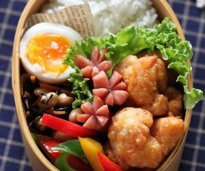 bento, food, and Chicken image