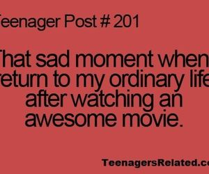 teenager post, movie, and life image