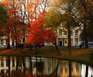 autumn, victorian house, and beautiful image