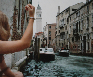 girl, venice, and photography image