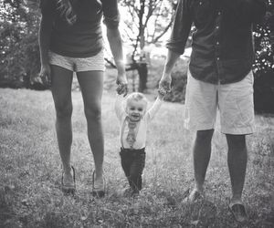 family, boy, and love image