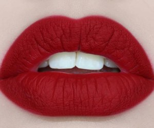 beauty, kiss, and lips image