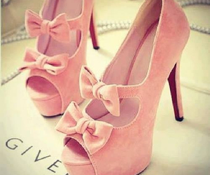 dress, girly, and heels image