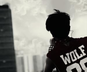 exo, wolf, and baekhyun image