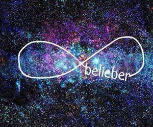 belieber, justin bieber, and infinity image
