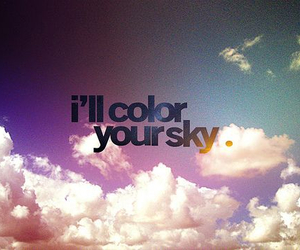 cloud, love, and color image