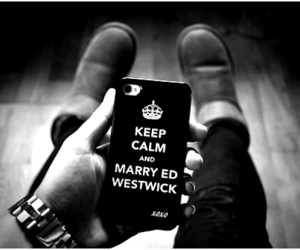 ed westwick and keep calm image