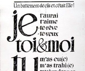 french, words, and drangies image
