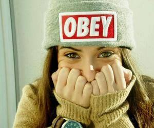 beanie, girl, and hat image