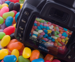 camera, colorful, and jellybeans image