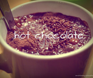 chocolate, hot ​chocolate, and Hot image