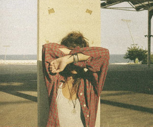 girl, summer, and vintage image