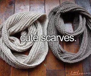 scarf, autumn, and fall image