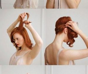60s, hairstyle, and redhair image