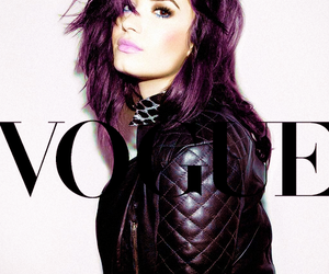 demi lovato, demi, and vogue image