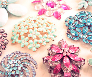flowers and jewelry image