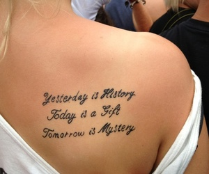 beautiful, quote, and tattoo image