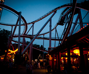 Roller Coaster and photography image