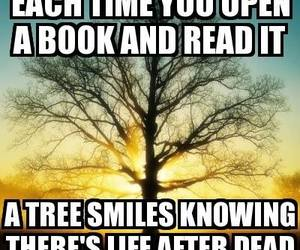 smiles, tree, and life after death image