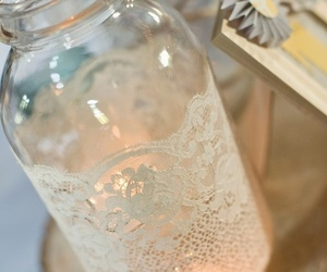candle, decor, and diy image