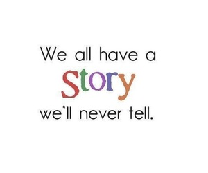 quote, secret, and story image