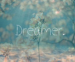 dreamer, Dream, and flowers image