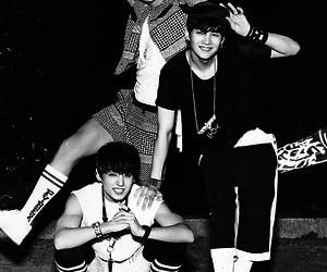 bts, jungkook, and rap monster image