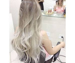 hair and blond image