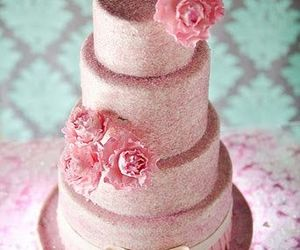 cakes, pink, and pretty image