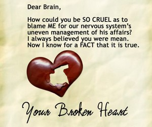 broken, funny, and Letter image