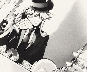 kuroshitsuji, undertaker, and black butler image