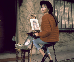 anna karina, art, and painting image