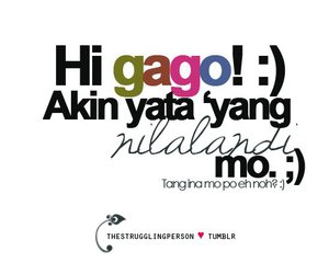 filipino, quotes, and text image