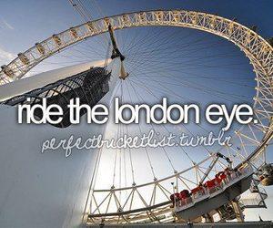 london eye, london, and before i die image