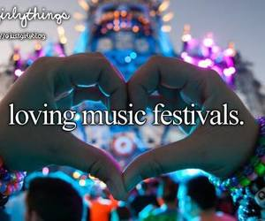music, festival, and love image