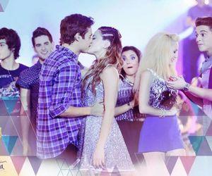 violetta, kiss, and jorge blanco image