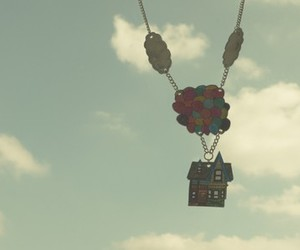 balloon, cloud, and ellie image