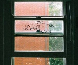 joy division, quotes, and window image