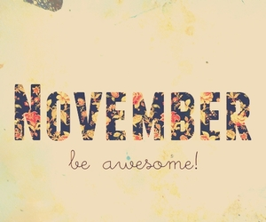 november, awesome, and autumn image