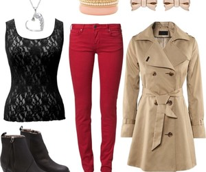 autumn, clothing, and fashion image