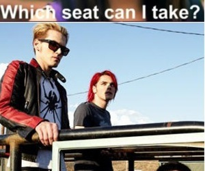 funny, my chemical romance, and rebecca black image